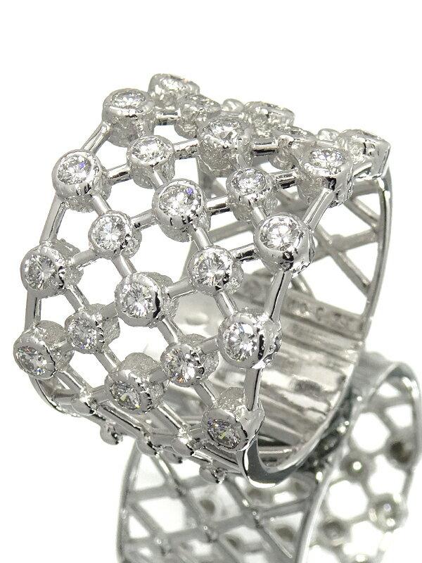 【TASAKI】タサキ『K18WG ダイヤモンド0.75ct リング』14号 1週間保証【中古】