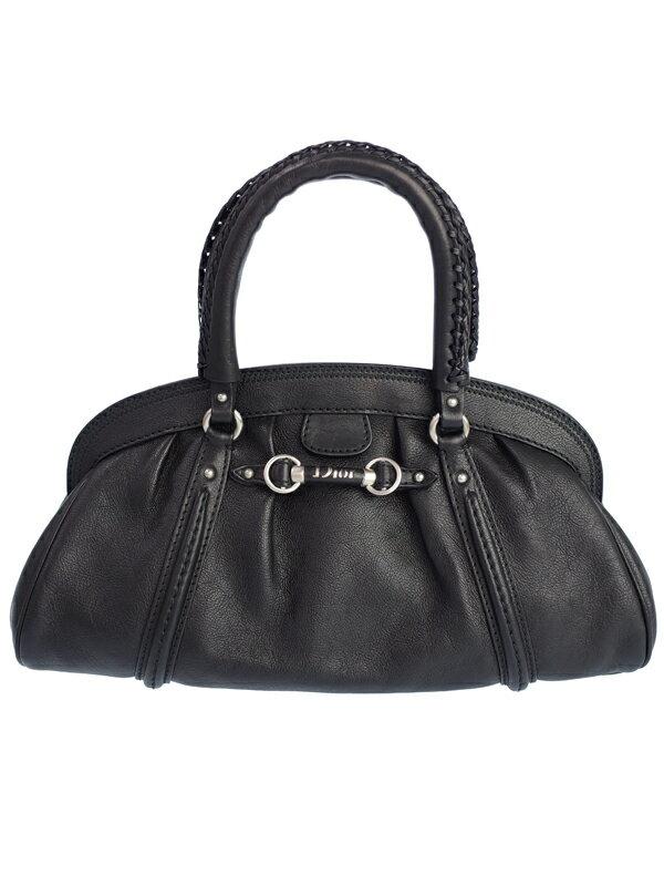 【Christian Dior】クリスチャンディオール『レザー ハンドバッグ』レディース 1週間保証【中古】