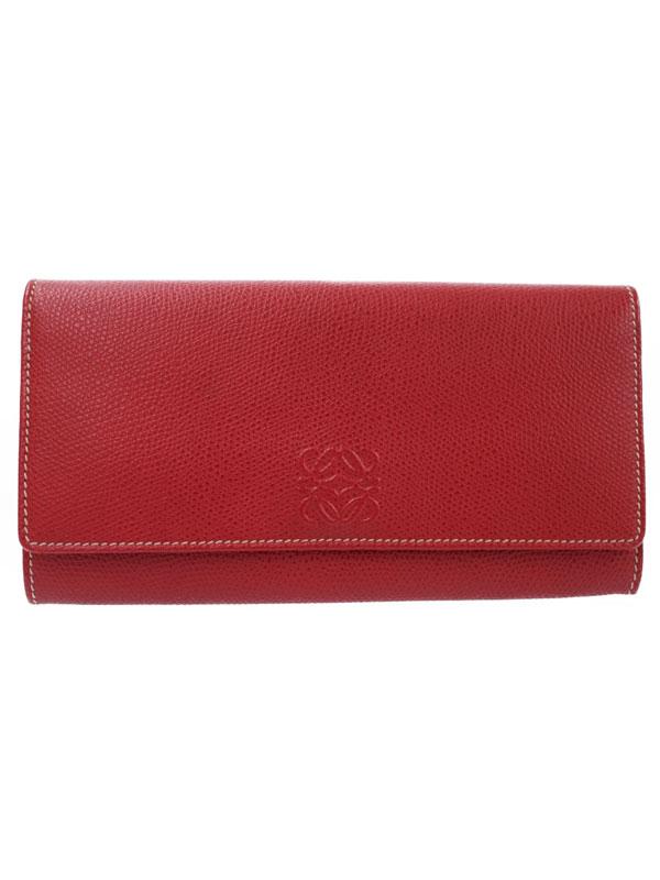 【LOEWE】ロエベ『二つ折り長財布』レディース 1週間保証【中古】