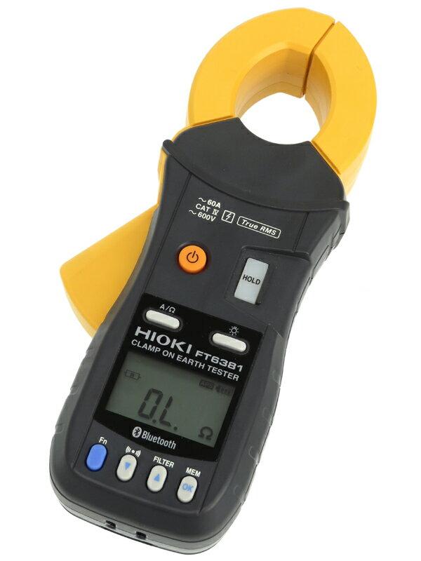 【HIOKI】日置電機『クランプ接地抵抗計』FT6381 多重接地専用 1週間保証【中古】