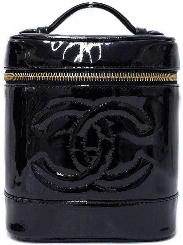 【CHANEL】【ゴールド金具】シャネル『ココマーク バニティバッグ』A01998 レディース 化粧ケース 1週間保証【中古】