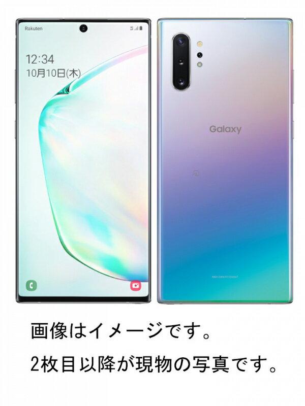 【SAMSUNG】【ギャラクシー】サムスン『Galaxy Note10+ 256GB SIMフリー オーラグロー』SM-N975C 2019年12月発売 スマートフォン 1週間保証【中古】