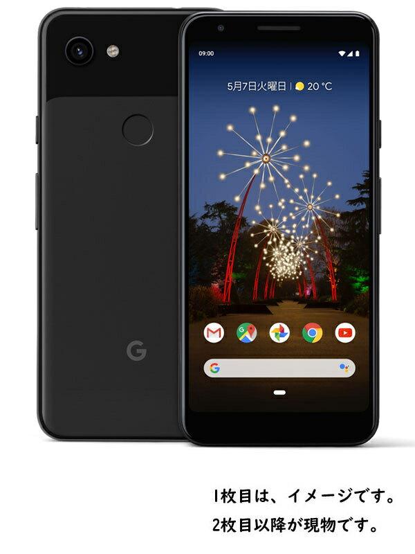 グーグル『Google Pixel 3a 64GB SIMフリー ジャストブラック』G020H 2019年5月発売 スマートフォン 1週間保証【中古】