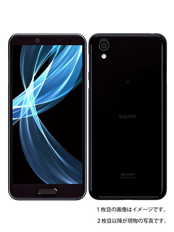 【SHARP】【アクオス】シャープ『AQUOS sense plus 32GB SIMフリー ブラック』SH-M07 2018年6月発売 スマートフォン 1週間保証【中古】