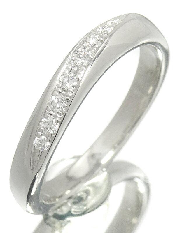 【TASAKI】タサキ『PT1000 ダイヤモンド0.09ct リング』9号 1週間保証【中古】