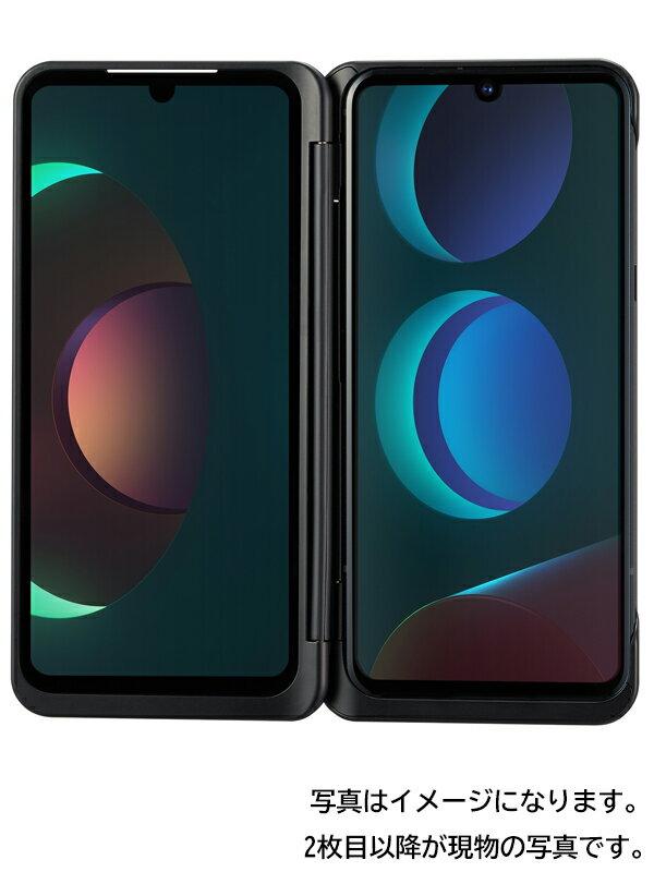 【LG】【ネットワーク利用制限△】エルジーエレクトロニクス『LG V60 ThinQ 5G 128GB ドコモのみ ザ ブラック』L-51A 2020年5月 スマホ 1週間保証【中古】