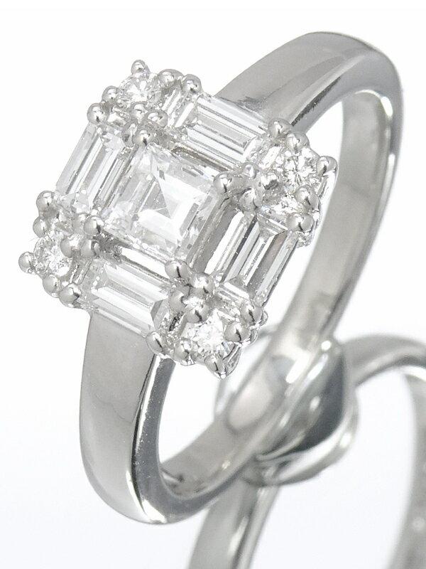 【TASAKI】タサキ『PT900 ダイヤモンド0.77ct リング』12.5号 1週間保証【中古】