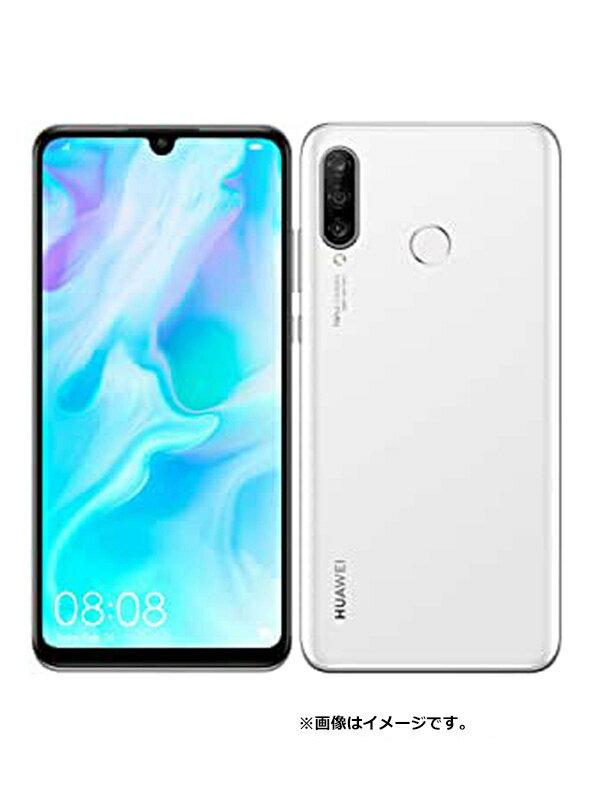 ファーウェイ『HUAWEI P30 lite 64GB  Yモバイルのみ パールホワイト』MAR-LX2J 2019年8月発売 スマートフォン 1週間保証【新品】