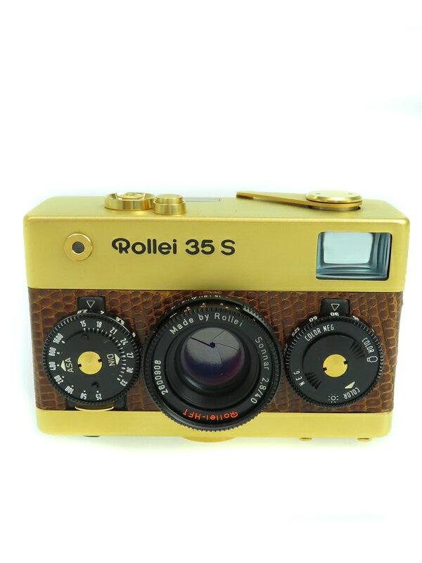 【Rollei】ローライ『35S Gold』40mmF2.8 60周年記念モデル コンパクトフィルムカメラ 1週間保証【中古】