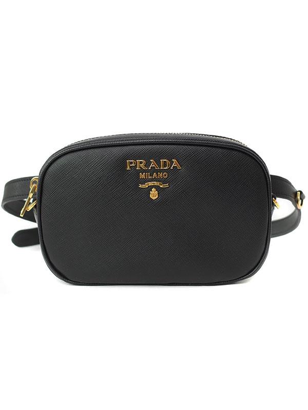 【PRADA】プラダ『ベルトバッグ』1BL007 レディース 2WAYバッグ 1週間保証【中古】
