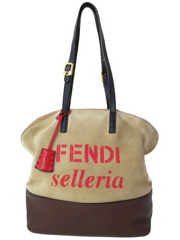 【FENDI】フェンディ『セレリア トートバッグ』8BN232 レディース 1週間保証【中古】