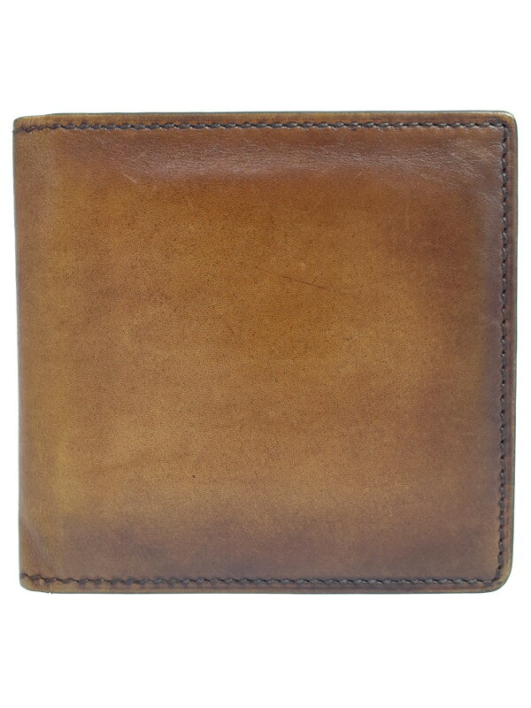 【Berluti】【小銭入れ無し】ベルルッティ『二つ折り短財布』メンズ 1週間保証【中古】