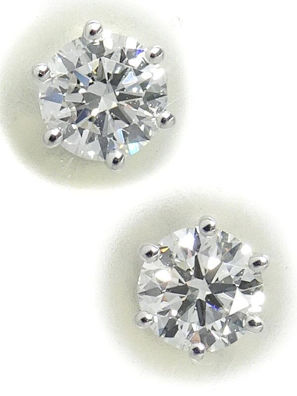 【TASAKI】タサキ『K18WG ダイヤモンド0.15ct 0.15ct ピアス』1週間保証【中古】