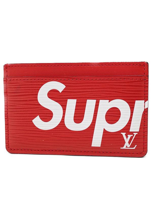 財布・ケース, クレジットカードケース LOUIS VUITTONLOUIS VUITTONSupreme M67712 1