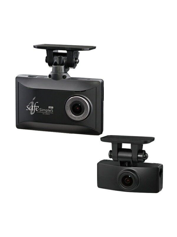 【COMTEC】デンソー コムテック『前後2カメラドライブレコーダーGPS搭載』DC-DR652 1週間保証【新品】