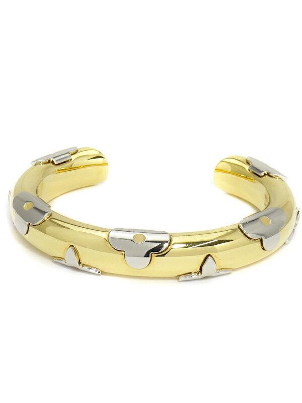 【Louis Vuitton】【オープンバングル】ルイヴィトン『ジョンク・デイリー モノグラム』M64848 ブレスレット 1週間保証【中古】