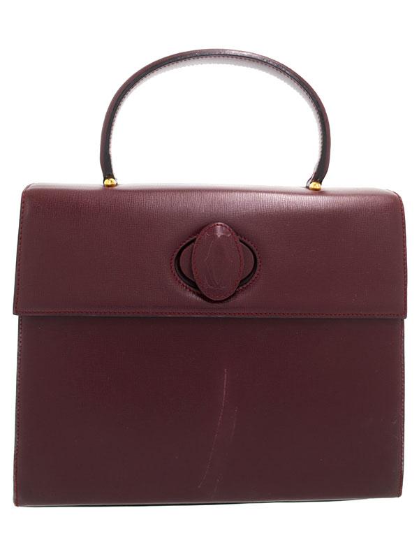 【Cartier】カルティエ『マストライン ハンドバッグ』L100169 レディース 1週間保証【中古】