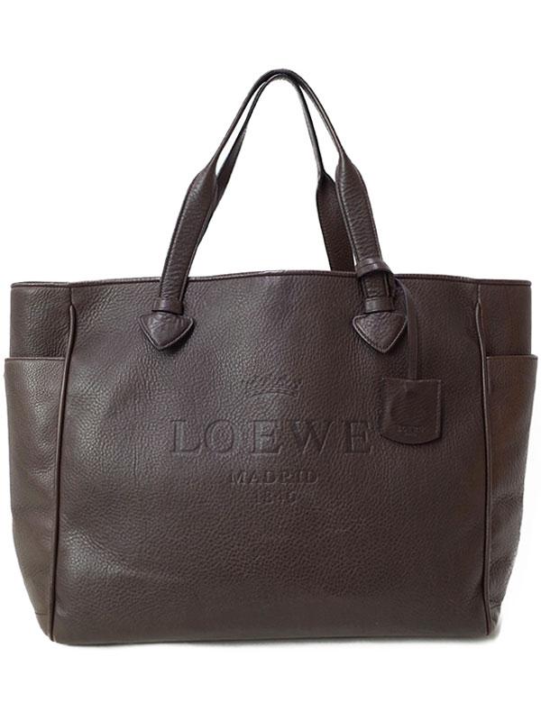 【LOEWE】ロエベ『ヘリテージ トートバッグ』レディース 1週間保証【中古】