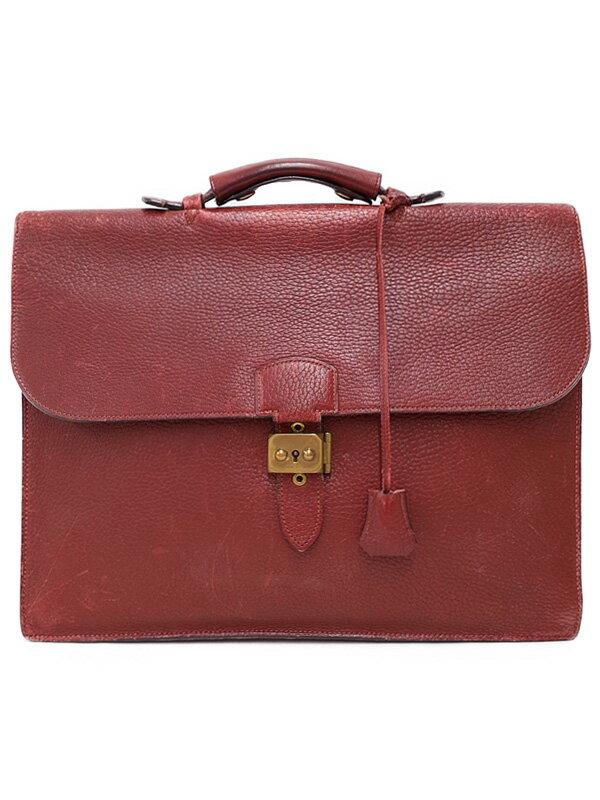 【HERMES】【ゴールド金具】エルメス『サック ア デペッシュ38』不鮮明 メンズ ビジネスバッグ 1週間保証【中古】