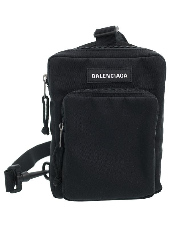【BALENCIAGA】バレンシアガ『エクスプローラー クロスボディ メッセンジャーバッグ』593651 メンズ ボディバッグ 1週間保証【中古】