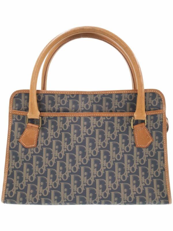 【Christian Dior】クリスチャンディオール『トロッター柄 ハンドバッグ』レディース 1週間保証【中古】