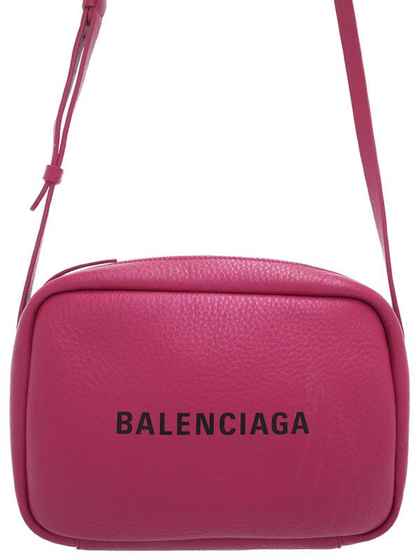 【BALENCIAGA】バレンシアガ『エブリデイ カメラバッグ S』489812 レディース ショルダーバッグ 1週間保証【中古】