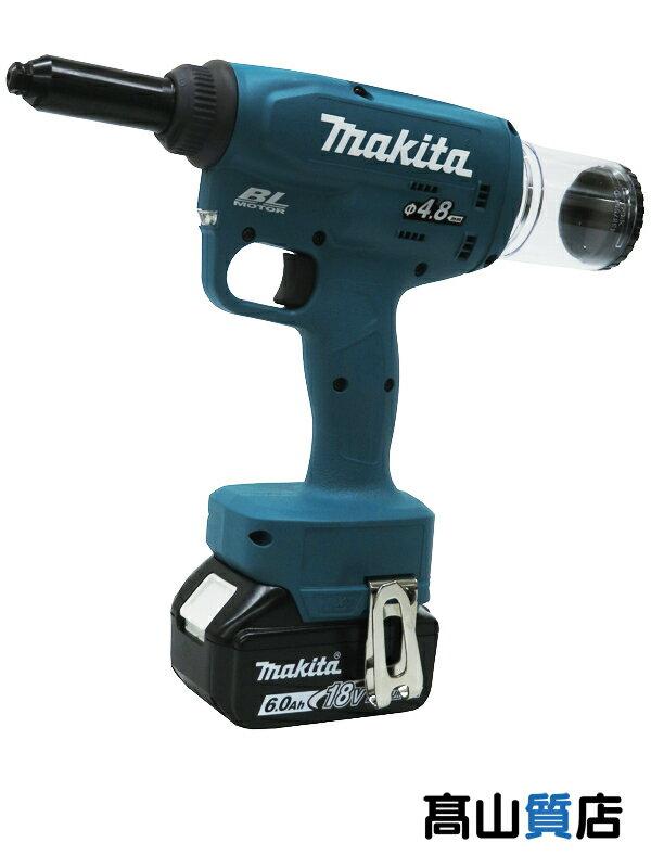 【makita】マキタ『充電式リベッタ』RV150DRG 18V 6.0Ah×1 充電器 ケース付 2.4〜4.8mm対応 電動式リベッタ 1週間保証【新品】