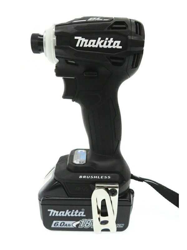 【makita】マキタ『充電式インパクトドライバー』TD172DRGXB 18V 6.0Ah×2 充電器 ケース付 1週間保証【新品】
