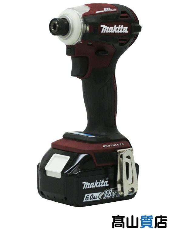 【makita】マキタ『充電式インパクトドライバー』TD172DGXAR 18V 6.0Ah×2 充電器 ケース付 1週間保証【新品】