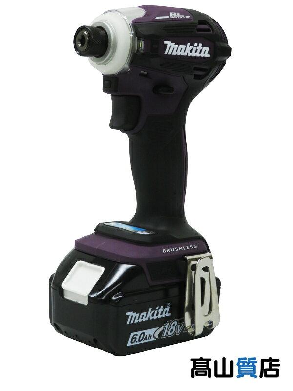 【makita】マキタ『充電式インパクトドライバー』TD172DGXAP 18V 6.0Ah×2 充電器 ケース付  1週間保証【新品】