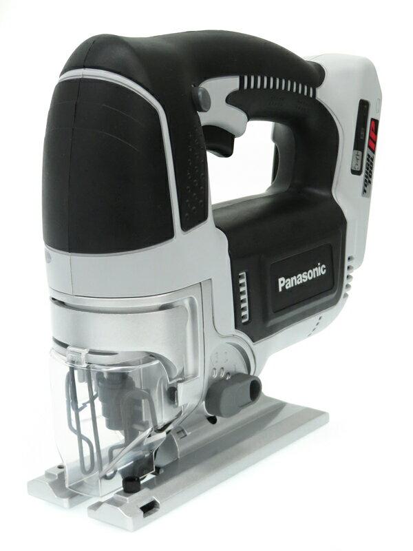 【Panasonic】パナソニック『充電ジグソー』EZ4550X-H 18V 大型トリガースイッチ採用 LEDライト 充電器・電池・ケース付 1週間保証【中古】