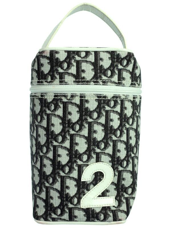 【Christian Dior】クリスチャンディオール『トロッター柄 バニティバッグ』CM1026 レディース ハンドポーチ 1週間保証【中古】