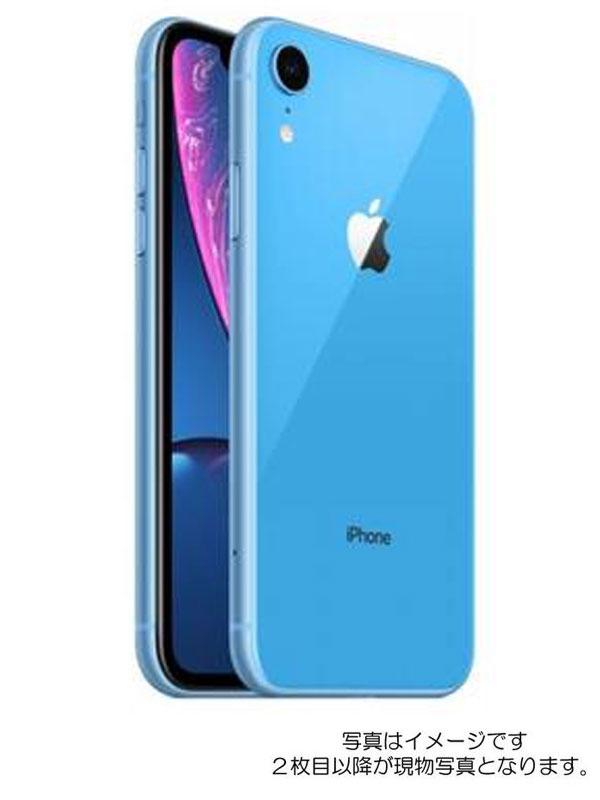 【Apple】アップル『iPhone XR 128GB SIMロック解除済 ドコモ ブルー』MT0U2J/A 2018年10月発売 スマートフォン 1週間保証【中古】