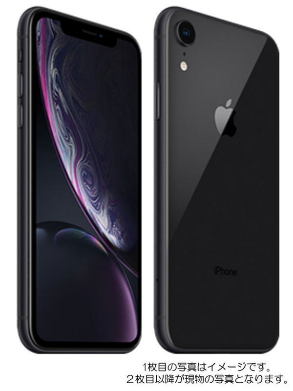 【Apple】アップル『iPhoneXR 128GB SIMロック解除済 ドコモ ブラック』MT0G2J/A 2018年10月発売 スマートフォン 1週間保証【中古】