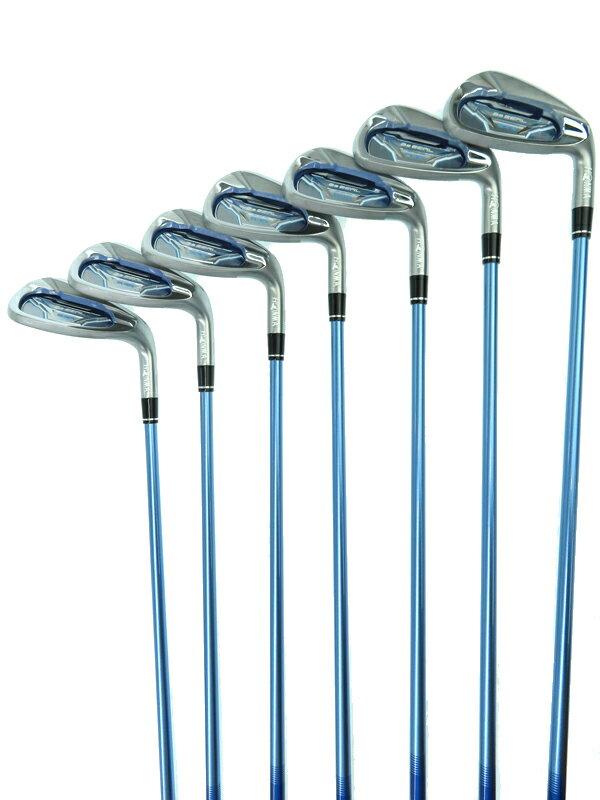 【HONMA】【女性向け】ホンマゴルフ『Be Zeal 535 アイアンセット フレックスA 7本セット 右利き』ゴルフクラブ 1週間保証【中古】