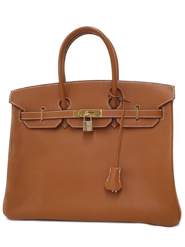 【HERMES】【ゴールド金具】エルメス『バーキン35』□J刻印 2006年製 レディース ハンドバッグ 1週間保証【中古】