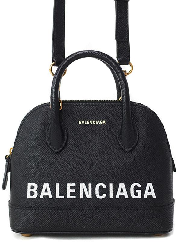 【BALENCIAGA】バレンシアガ『ビルトップ ハンドルXXS』525050 レディース 2WAYバッグ 1週間保証【中古】