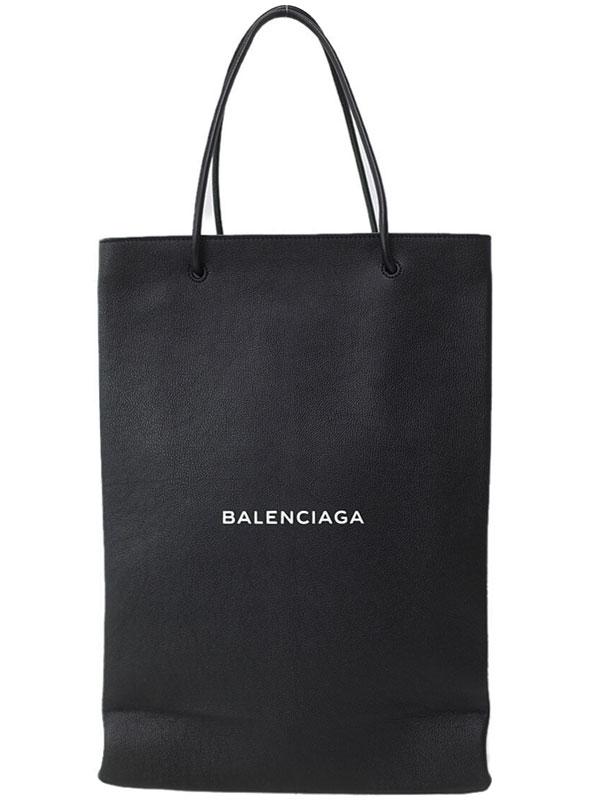 【BALENCIAGA】バレンシアガ『ノースサウス ショッピングバッグM』491661 メンズ トートバッグ 1週間保証【中古】