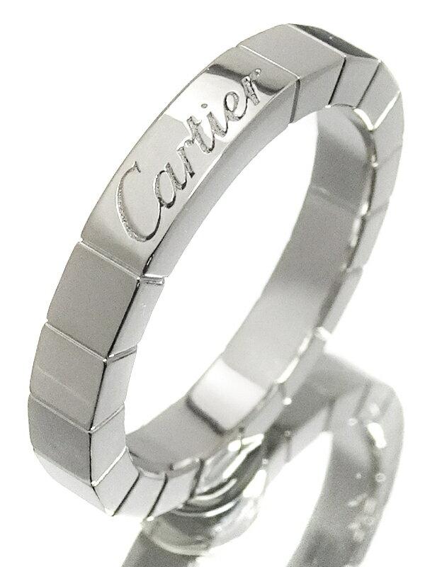 【Cartier】【仕上済】カルティエ『K18WG ラニエール リング』7号 1週間保証【中古】