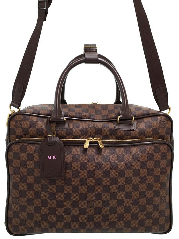 【LOUIS VUITTON】ルイヴィトン『ダミエ イカール』N23252 メンズ ビジネスバッグ 1週間保証【中古】
