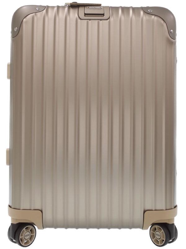 【RIMOWA】【トパーズ】【TSAロック】リモワ『オリジナル キャビン スーツケース 4輪 35L』923.53.03.4 ユニセックス キャリーケース 1週間保証【中古】