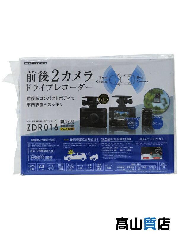 【COMTEC】コムテック『GPS搭載ドライブレコーダー』ZDR016 前後2カメラ 1週間保証【新品】