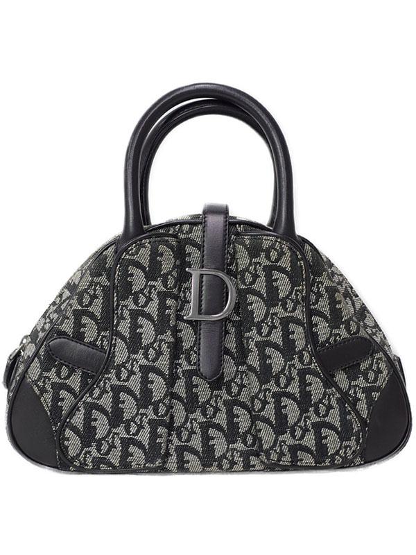 【Christian Dior】クリスチャンディオール『トロッター柄 ミニハンドバッグ』レディース 1週間保証【中古】