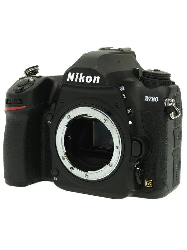 【Nikon】ニコン『D780 ボディ』2450万画素 FXフォーマット SDXC 4K動画 デジタル一眼レフカメラ 1週間保証【中古】