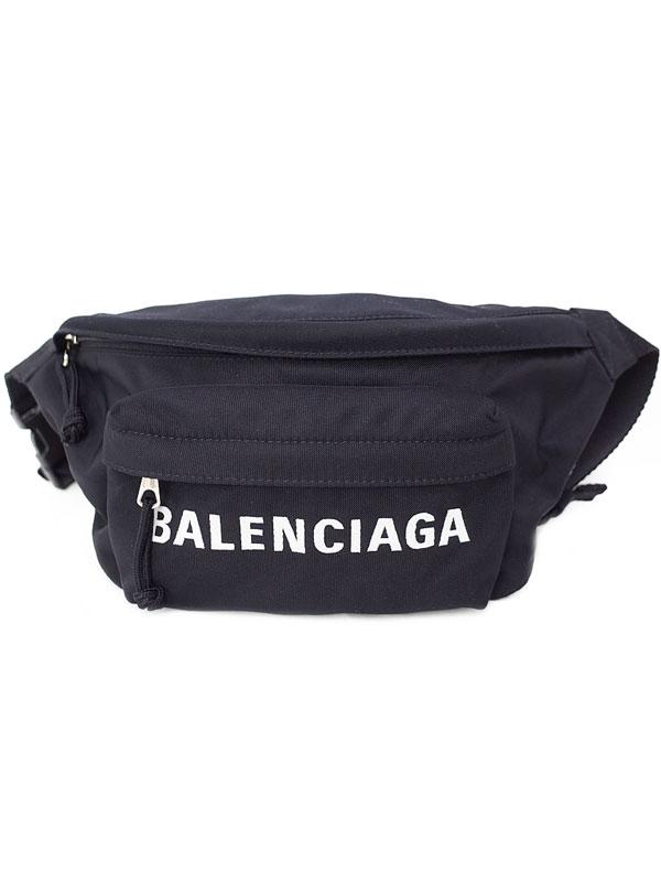 【BALENCIAGA】バレンシアガ『ウィール ベルトバッグ』533009 メンズ ボディバッグ 1週間保証【中古】
