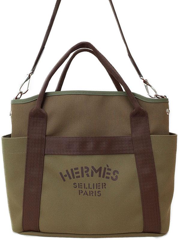 【HERMES】エルメス『サック ド パンサージュ グルーム』A刻印 2017年 メンズ レディース トートバッグ 1週間保証【中古】