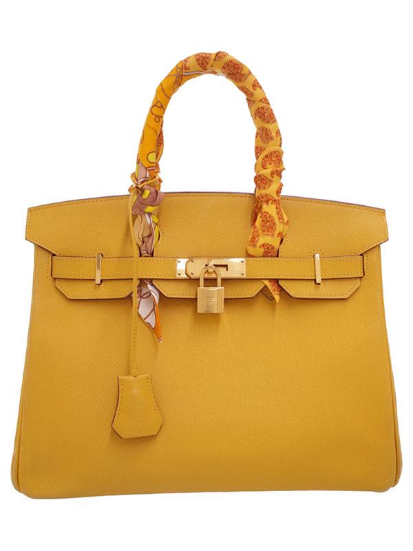 【HERMES】【ゴールド金具】エルメス『バーキン30』□M刻印 2009年製 レディース ハンドバッグ 1週間保証【中古】