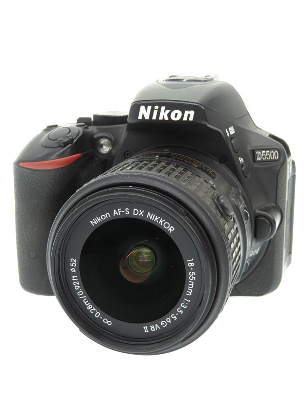 【Nikon】ニコン『D5500 18-55 VR II レンズキット』2015年2月 デジタル一眼レフカメラ 1週間保証【中古】