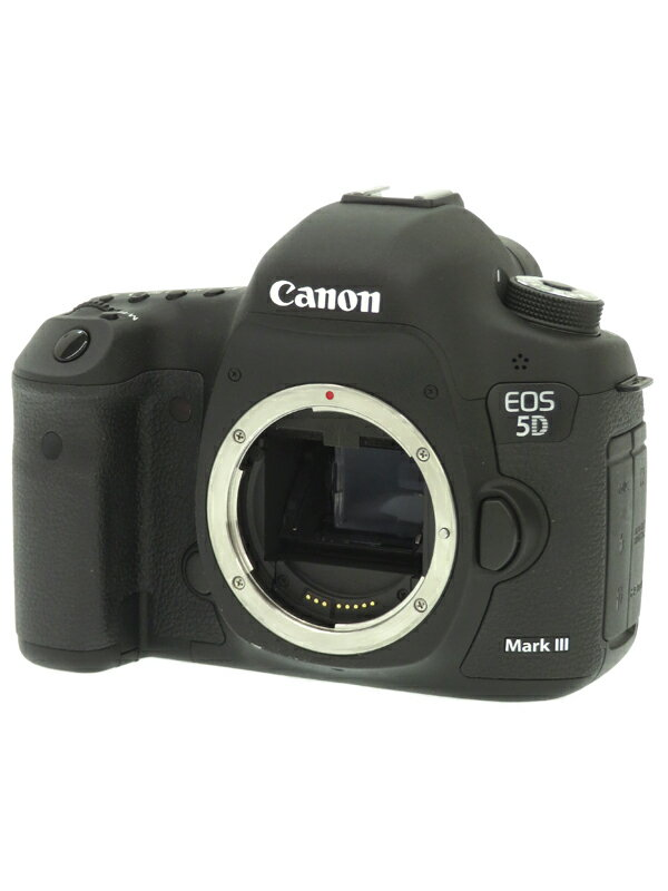 【Canon】キヤノン『EOS 5D Mark III ボディ』2230万画素 フルサイズ SDXC/CF フルHD動画 デジタル一眼レフカメラ 1週間保証【中古】