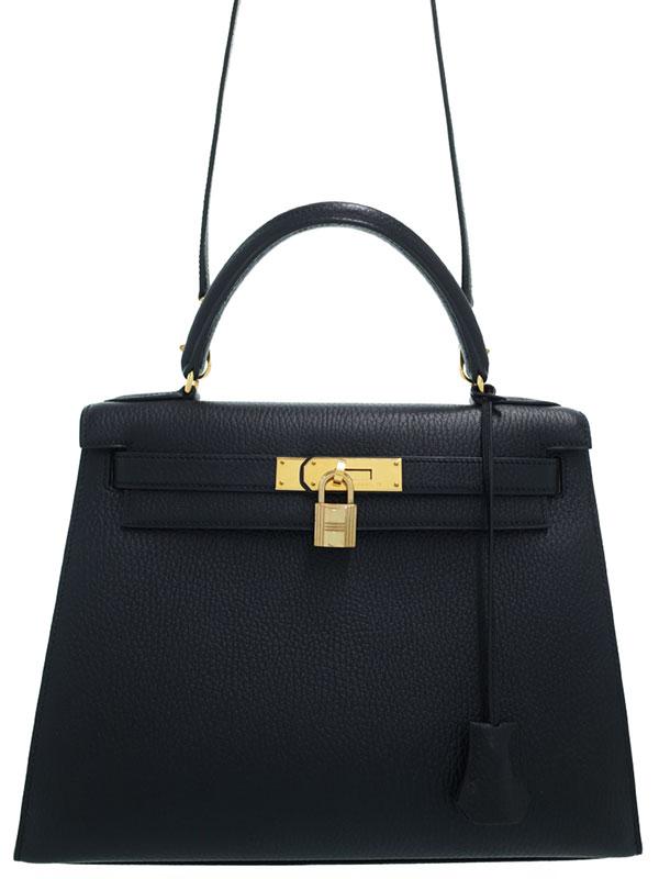 【HERMES】【ゴールド金具】エルメス『ケリー28 外縫い』□B刻印 1998年製 レディース 2WAYバッグ 1週間保証【中古】